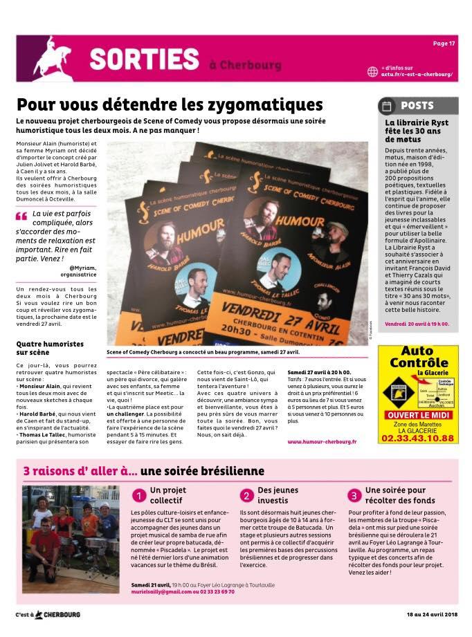 Article C'est à Cherbourg