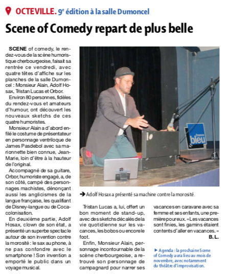 Le Scene of Comedy repart de plus belle !